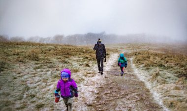 How to start the new year right with a First Day Hike by Rebecca Hosley for Hike it Baby
