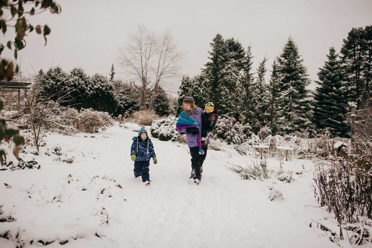 How to hike with kids this winter: family-approved hacks by Rebecca Hosley for Hike it Baby