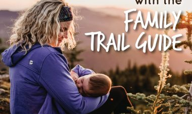 Family Trail Guide announcement for Hike it Baby