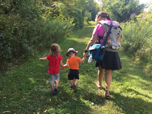 "How my Military Family Found our ""Village"" Through Hike it Baby by Becca Hosley for Hike it Baby"