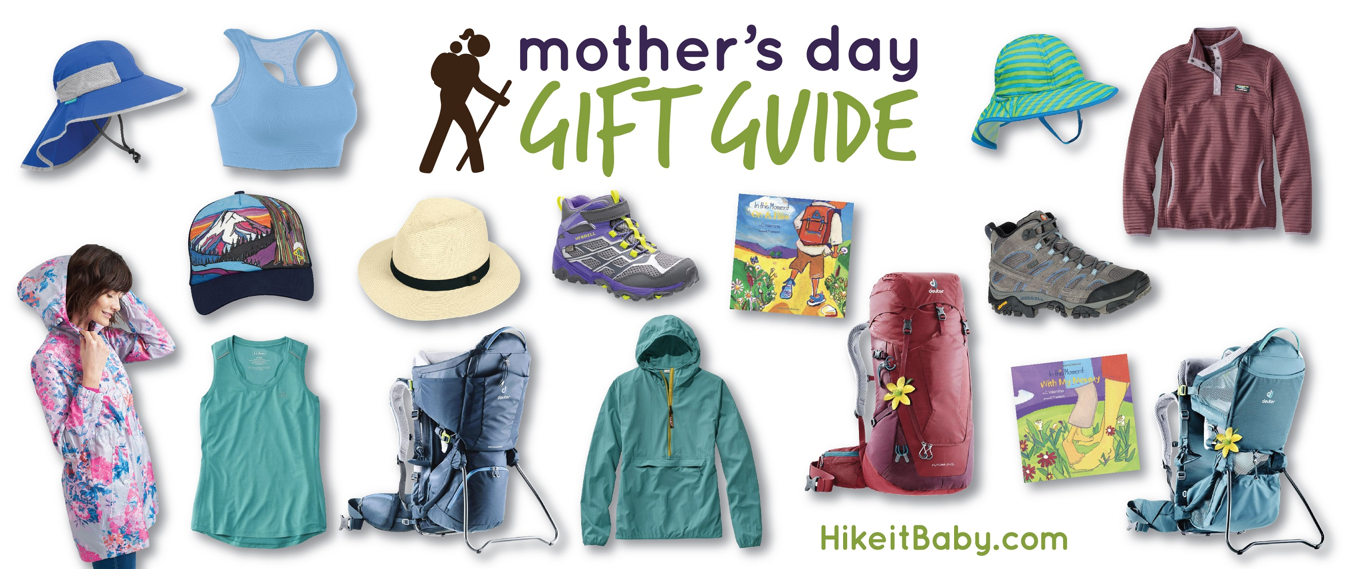 Mother's Day Gift Guide 2019 for Hike it Baby