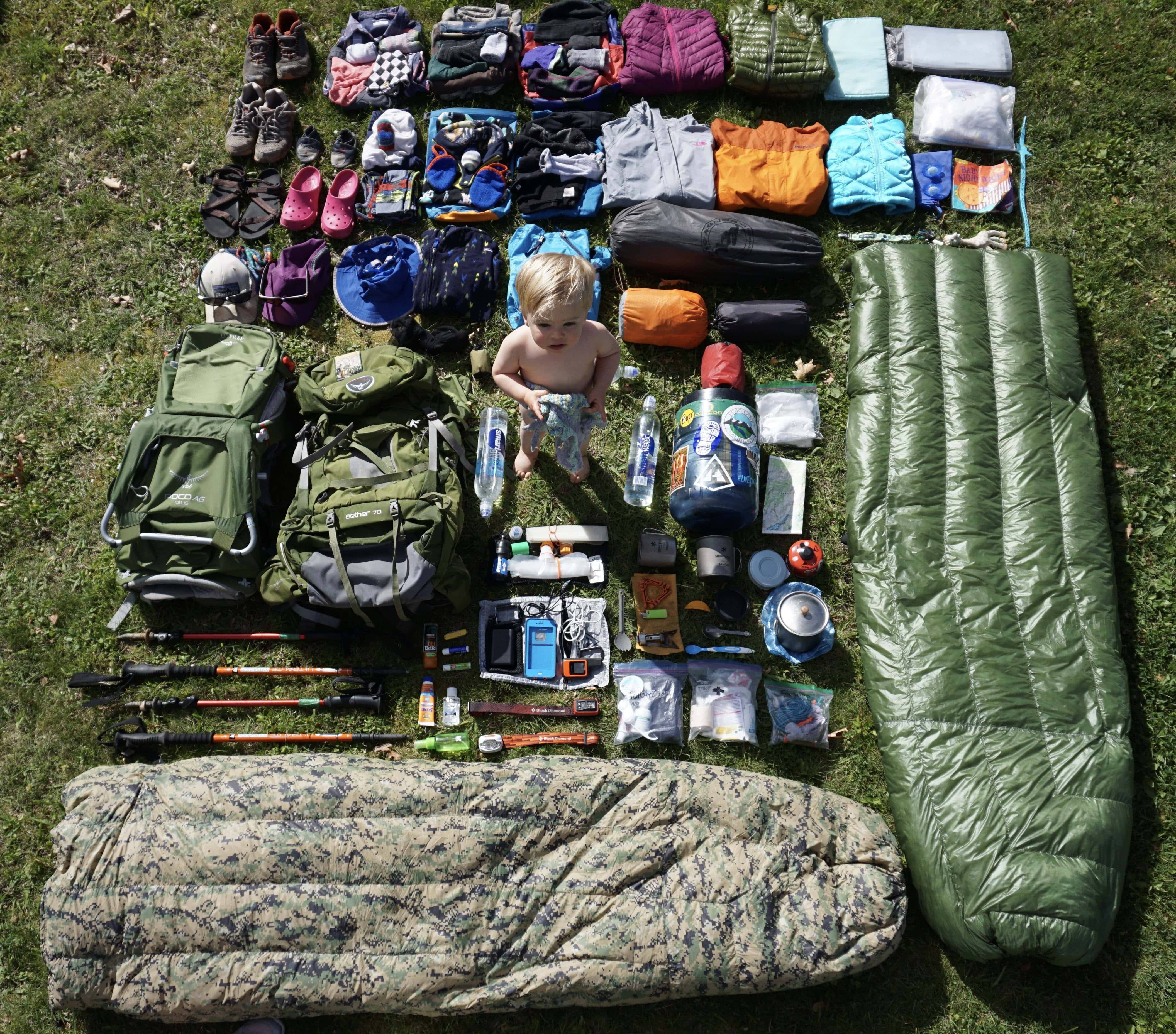 The Ultimate Beginner's Guide to Backpacking with Babies Part 2: Gear List by Joe Linehan for Hike it Baby