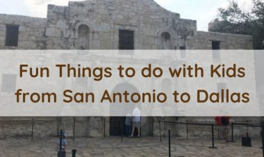 Fun Things to do with Kids from San Antonio to Dallas by Hike it Baby