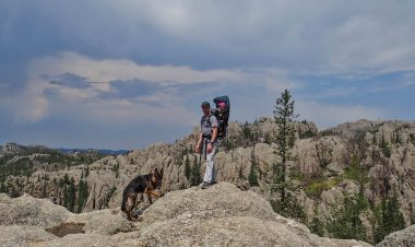3 Perfect South Dakota Hike for Families With Young Children in New Hampshire by Frank Tucker for Hike it Baby