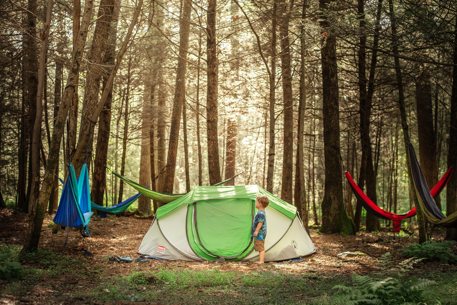 What to look for in a kid-friendly camping site by Jessica Nave for Hike it Baby