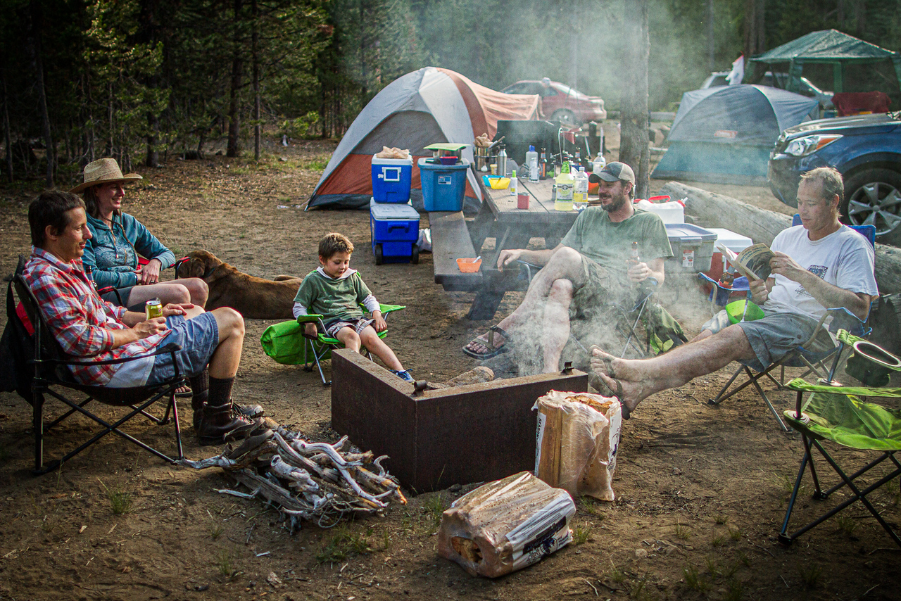How to have a budget-friendly camping adventure by Lexie Gritlefeld for Hike it Baby