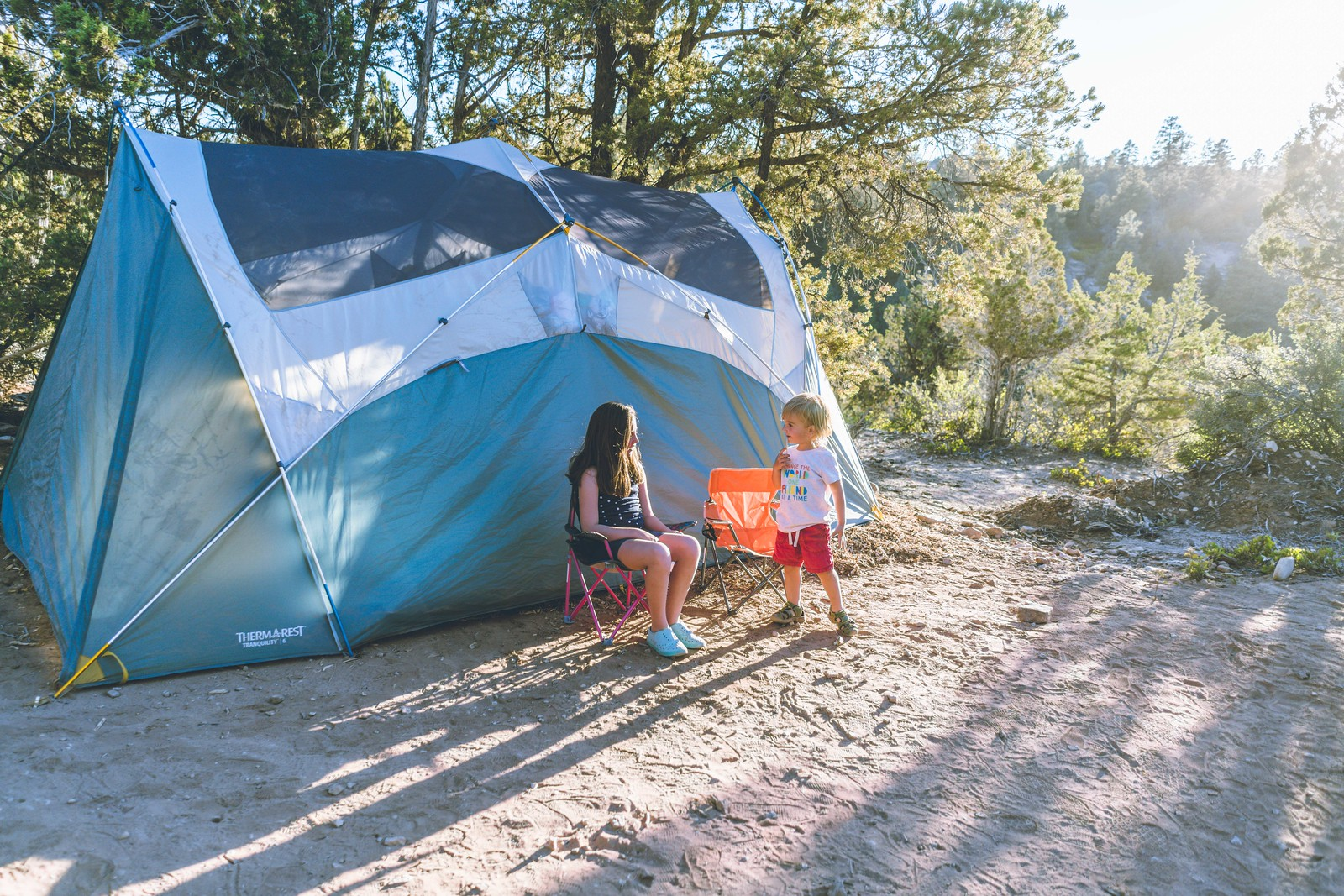 Pros and cons: car camping vs tent camping by Brenna Jeanerette for Hike it Baby