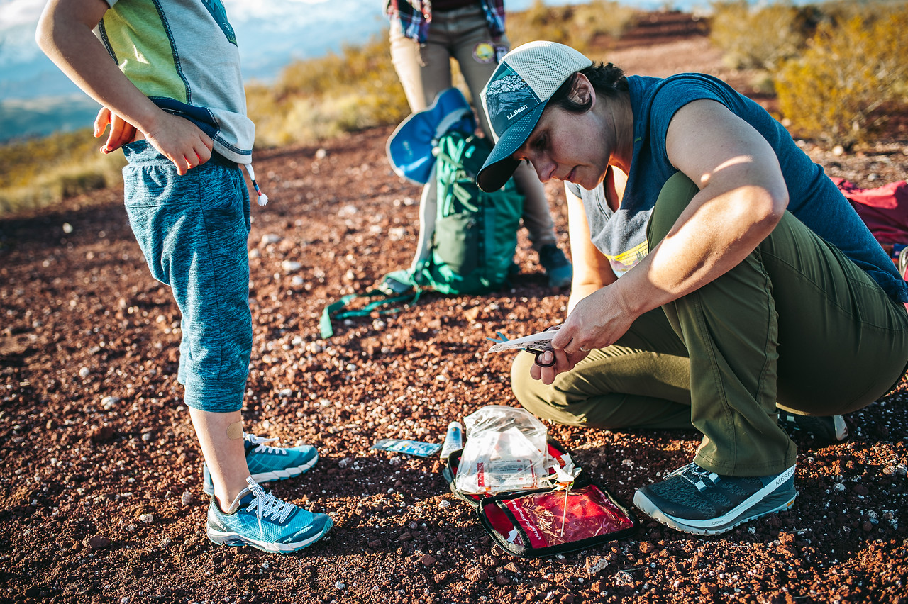 How to pack your medical kit for the trail by Clay Abney for Hike it Baby