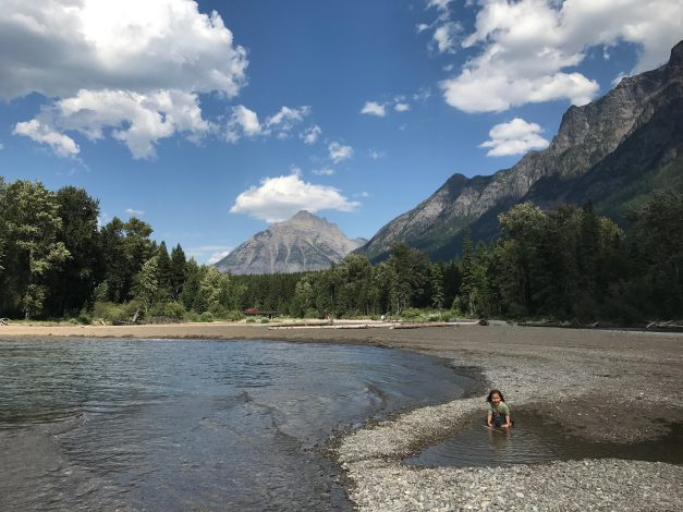 3 Breathtaking kid-friendly trails in Montana by Vong Hamilton for Hike it Baby