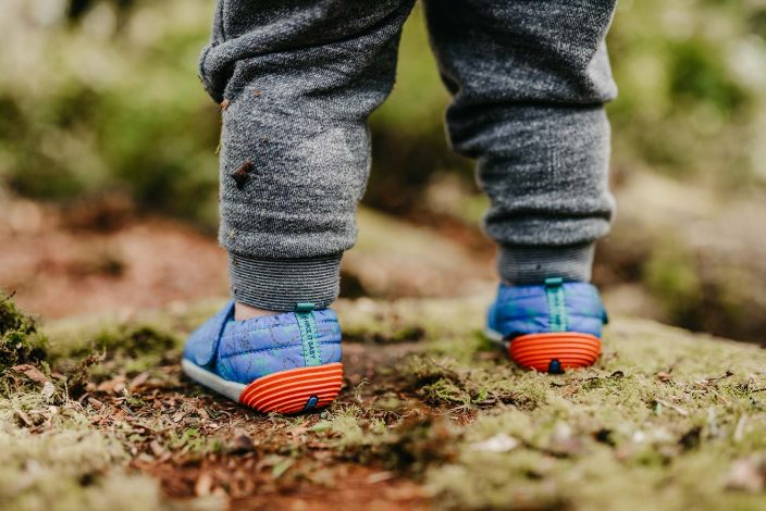 Merrell and Hike it Baby Bare Steps Hut Moc