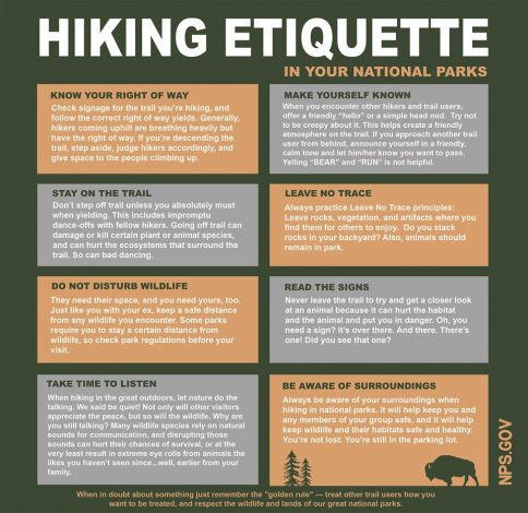 hiking etiquette tips