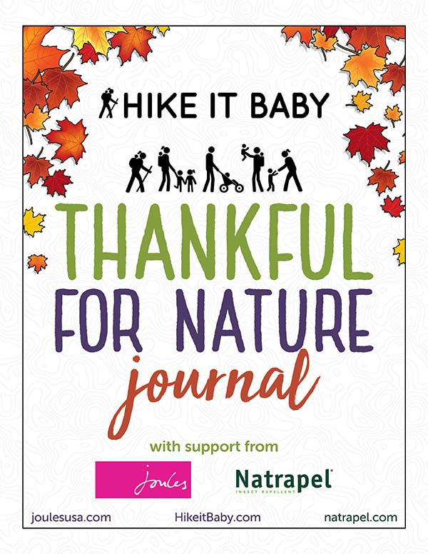 cover of thankful for nature journal