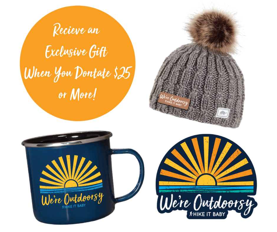exclusive gifts when you donate $25 or more